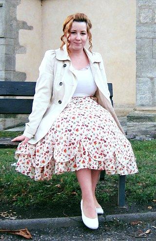 Návod na půlkolovou sukni