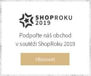 Hlasujte pro nás v soutěži ShopRoku 2019