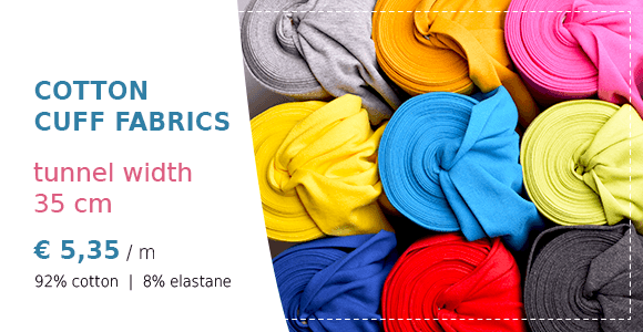 Cotton cuff fabrics