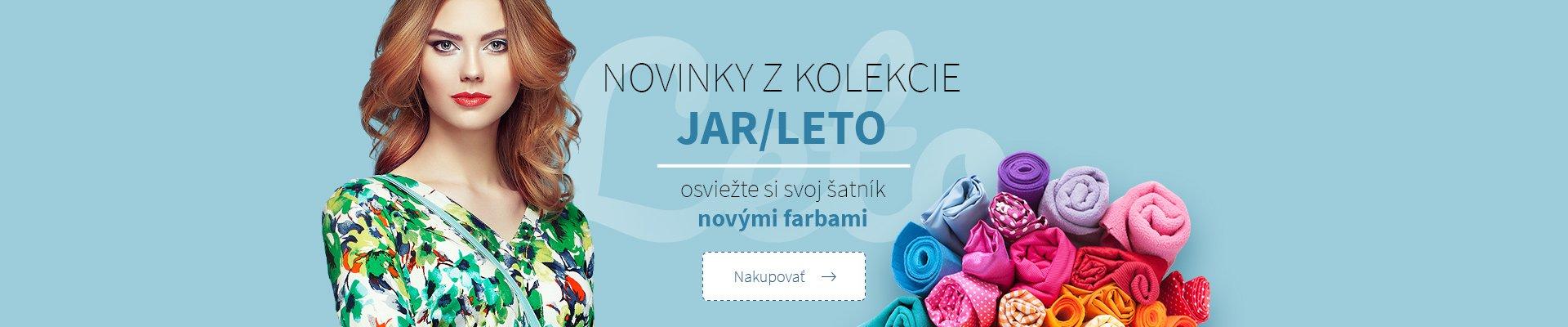 NOVINKY Z KOLEKCE JAR / LETO