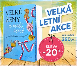 Kniha Velké ženy z malé země s 20% SLEVOU