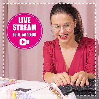 Livestream s Adri na tému Ako využiť zvyšky látok