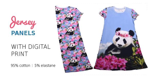 panels - digitice - dress