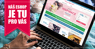 Náš e-shop je tu stále pro vás