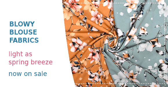 Spring blouse fabrics