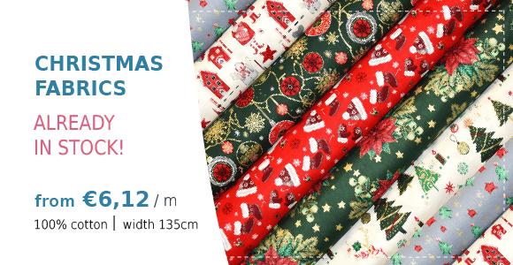 Christmas fabrics 140