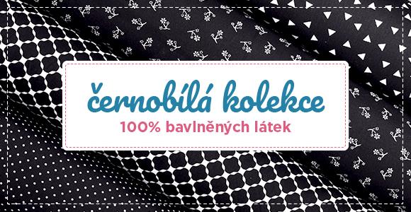 Černobílá kolekce bavln