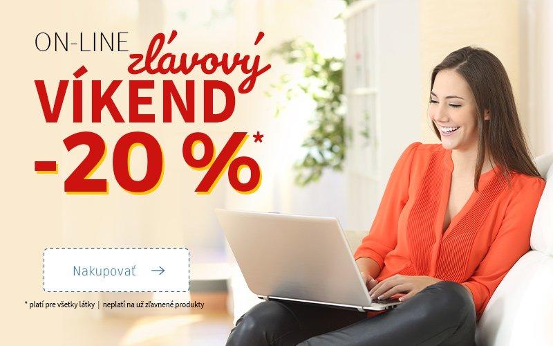 On-line slevový víkend