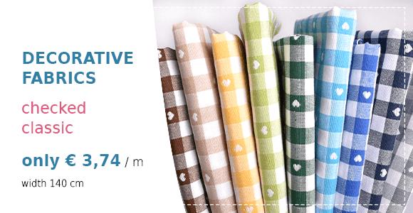 Checked Decorative Fabrics