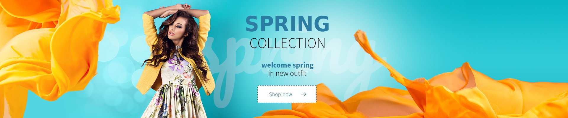 Welcome spring in new outfit