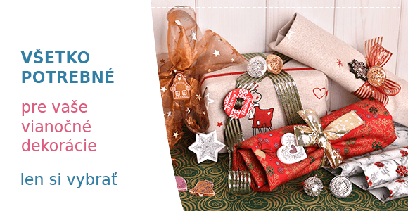 Všetko pre vianočné dekoráci
