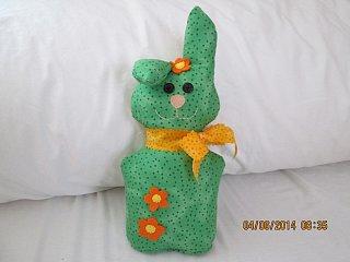 Návod na výrobu velikonočního králíka