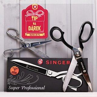 Tip na dárek - nůžky SINGER se slevou 20 %