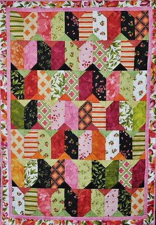 Veselý quilt