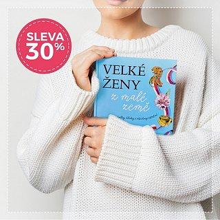 Kniha Velké ženy z malé země nyní o 30 % levnější!