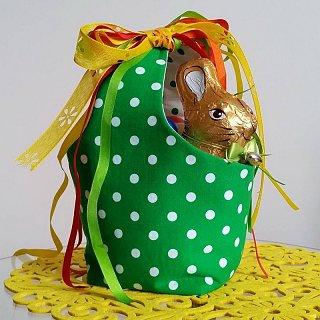 Velikonoční košíček bez proutí
