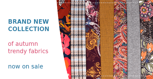 autumn fabrics - new collection