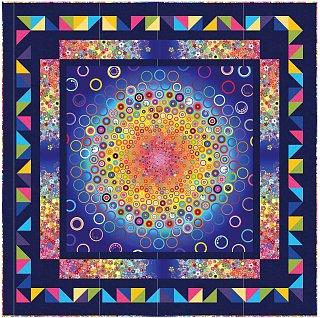 """Quilt """"Hravé bublinky"""" z kolekcie Effervescence"""