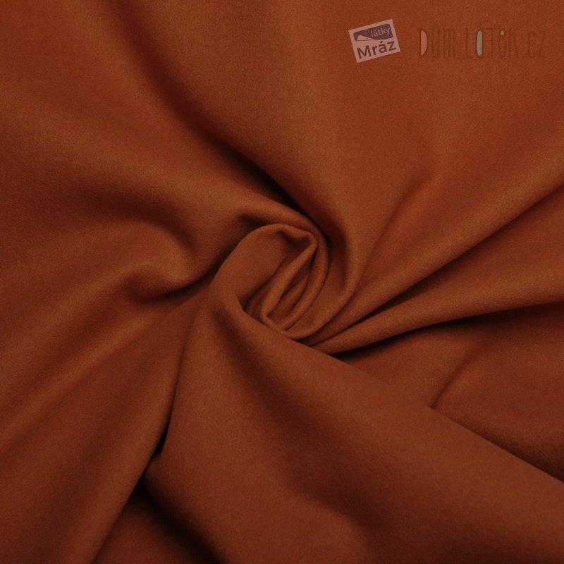 b758ef12a420 Umělý flauš tmavě oranžový