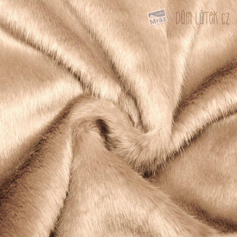 Umělá kožešina béžová krémová ... dcbe8c7c5d