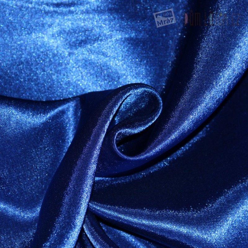 Krep satén tmavě modrý 9  639d6c719d7