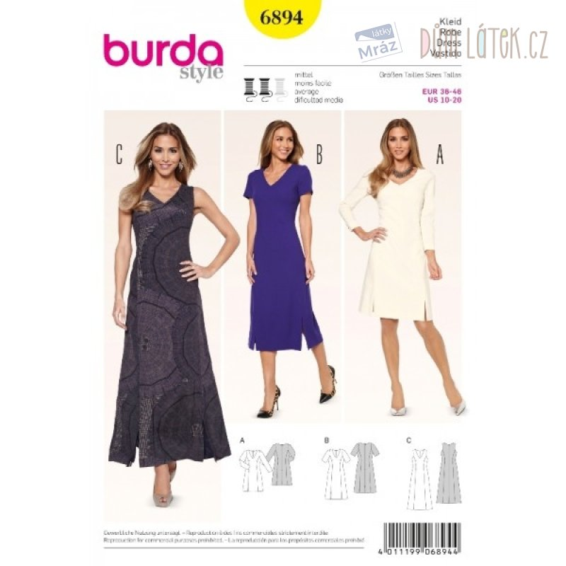 Burda módní střih 6894  eded455407