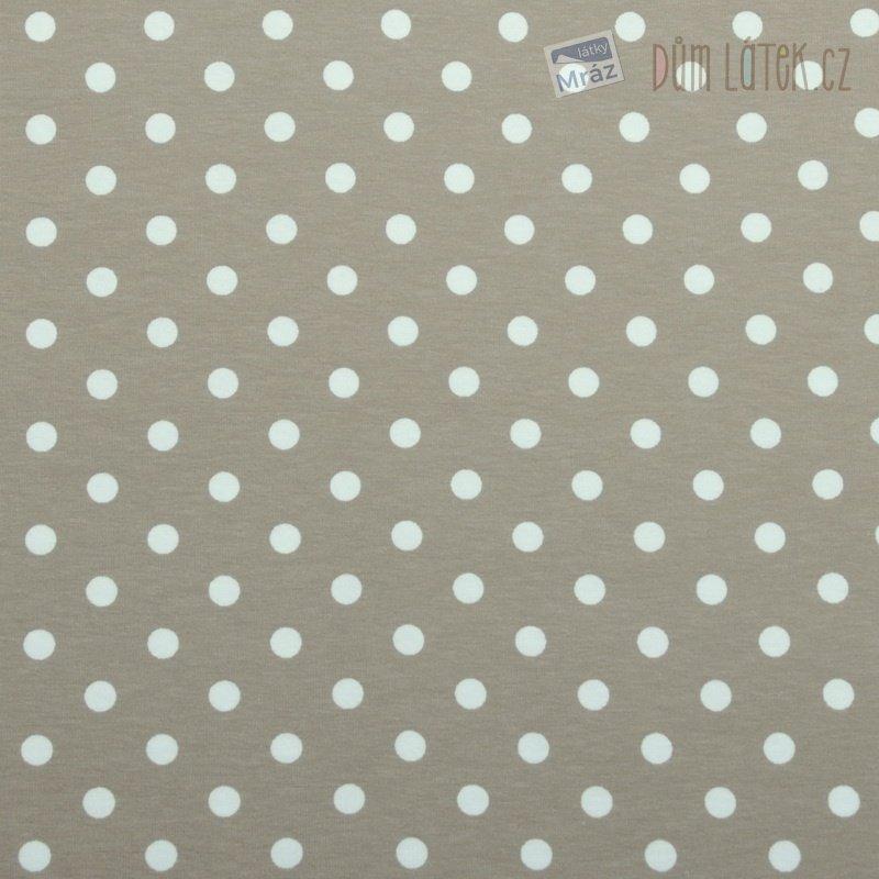 Úplet hnědý s puntíky ... c854b29915