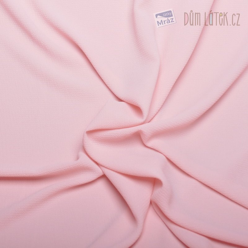 Šifon růžový krepový ... af18bddf488
