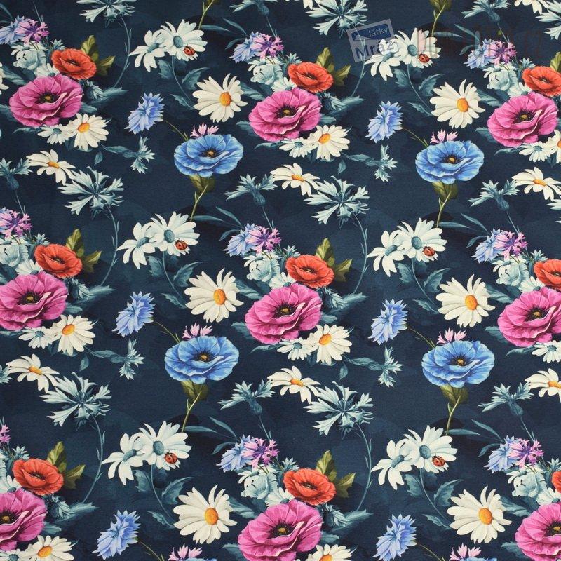 263c087fa3e9 Úplet s květy - digitální tisk