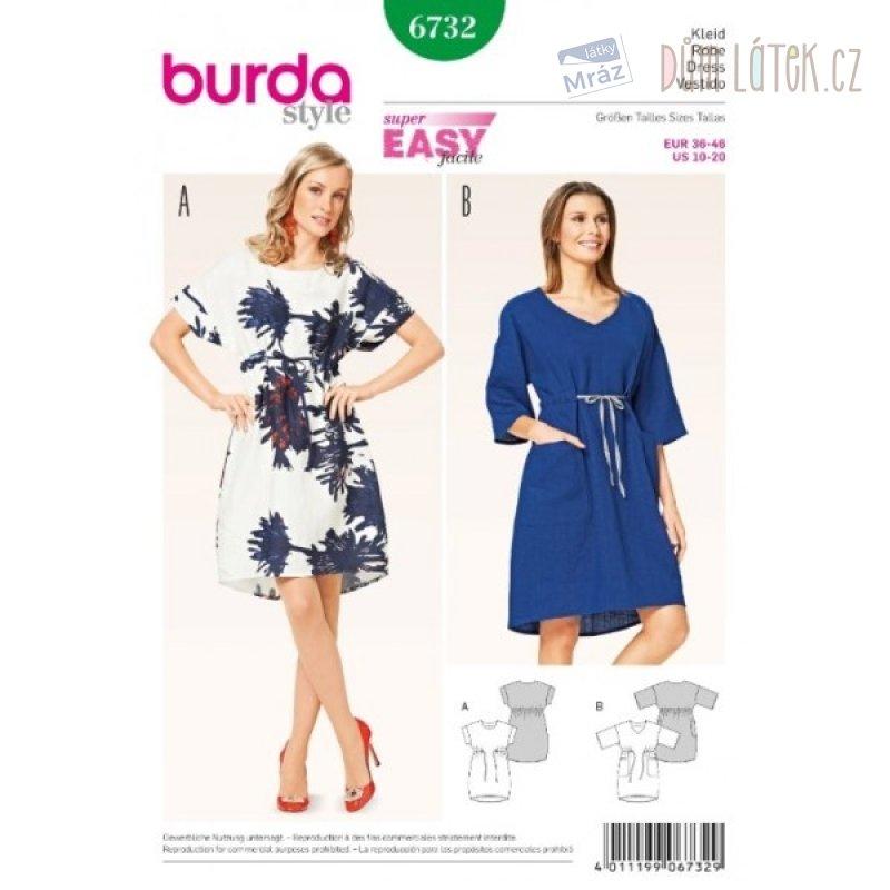 Burda módní střih 6732  7b1a9815e6