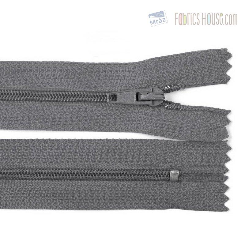 Zipper Worm 3 mm indivisible 50 cm   FabricsHouse com