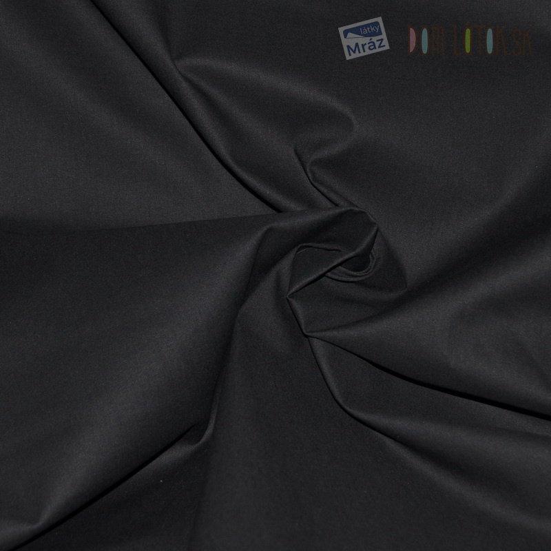 Bavlna čierna 5001 Öko-Tex 100 c1f058fb95f