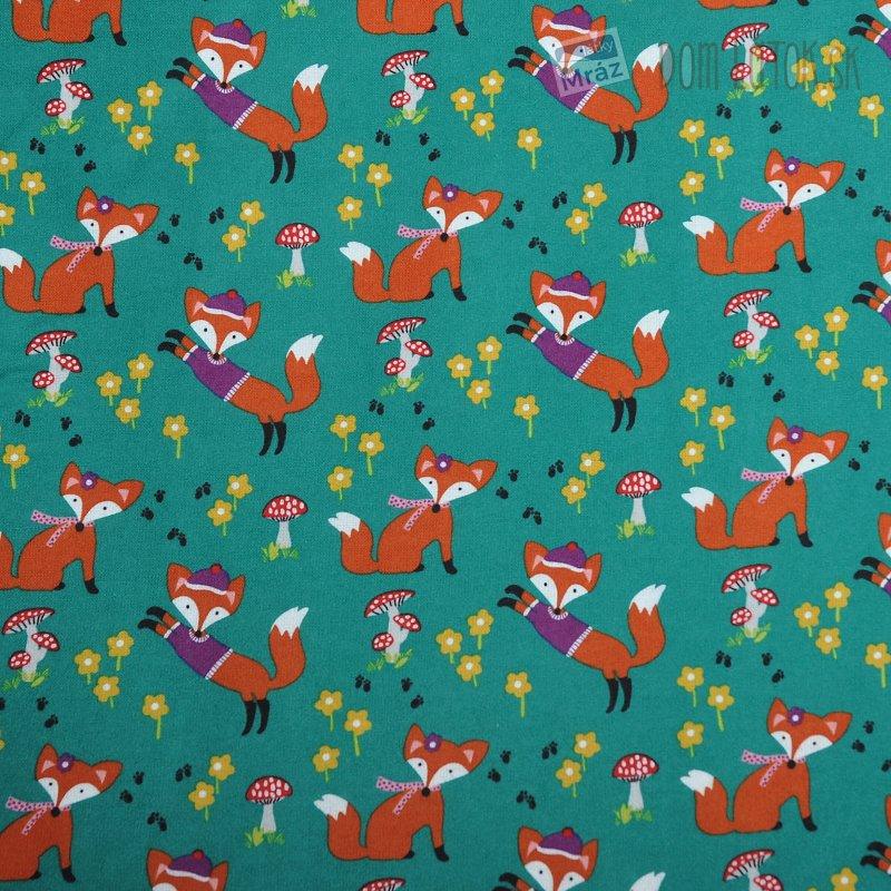 Bavlněný flanel Lill Foxy  09d29b973cc