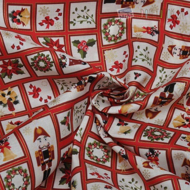 Vianočné bavlna s obrázkami Vianočné bavlna s ... d4bacefff39