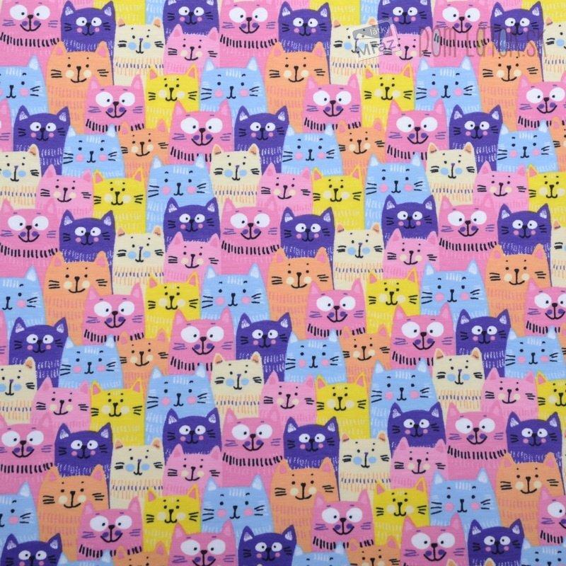 Úplet farebné mačky  2cb79995c27