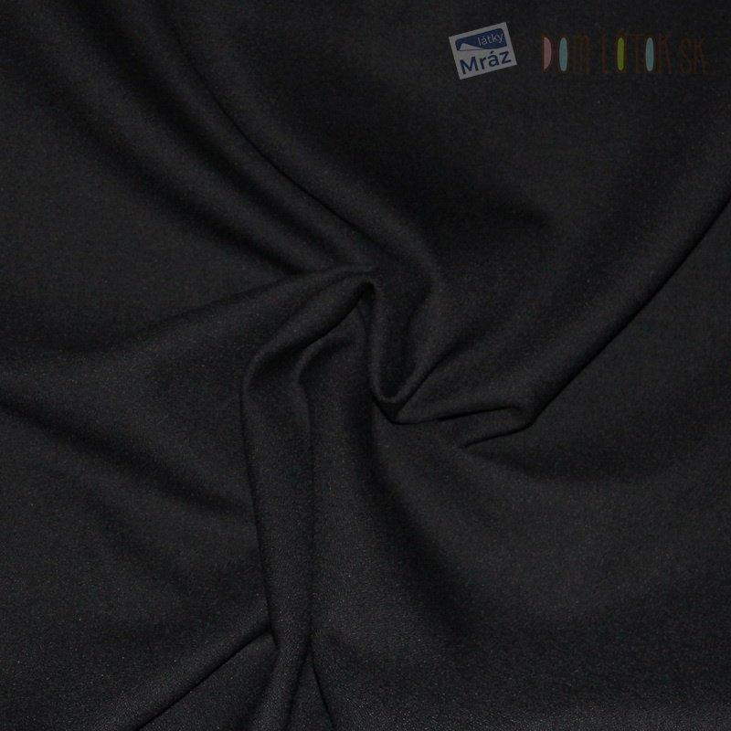 Kostýmová látka čierna - žoržet ... dc06ce6f275