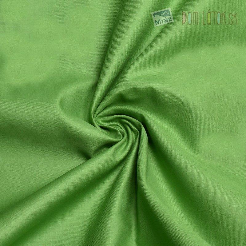 e0ca9a3d3b74 Bavlnený satén zelený