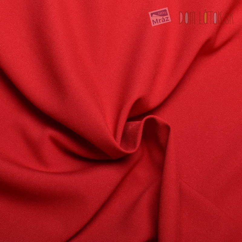 Kostýmová látka červená  3b047767fa0