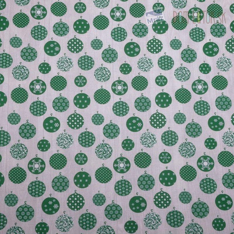 Vianočný bavlna vzorovaná  8c22121694f